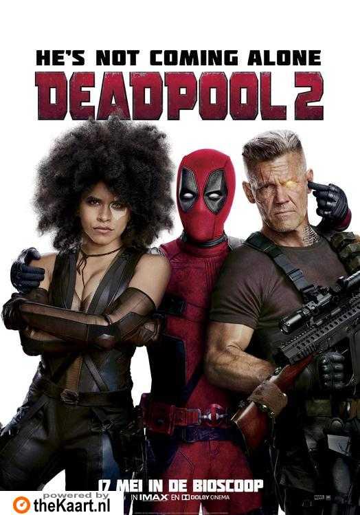 Deadpool 2 poster, © 2018 20th Century Fox