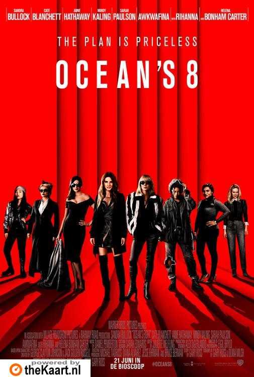 Ocean's 8 poster, © 2018 Warner Bros.