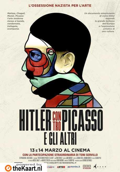 Hitler versus Picasso and the Others poster, copyright in handen van productiestudio en/of distributeur