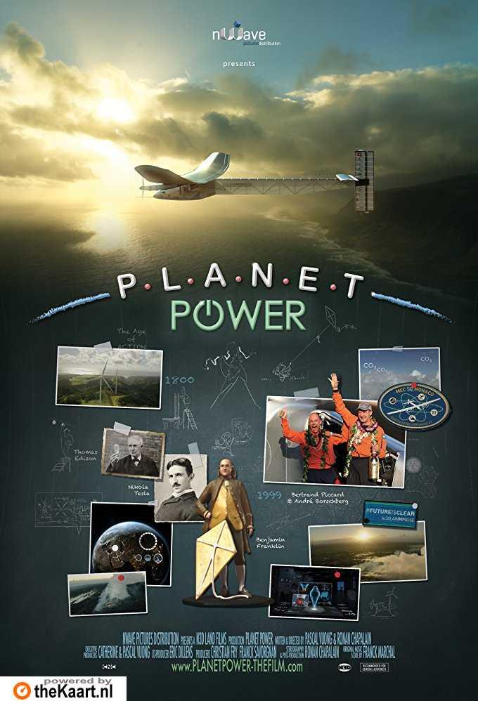Planet Power 3D poster, copyright in handen van productiestudio en/of distributeur