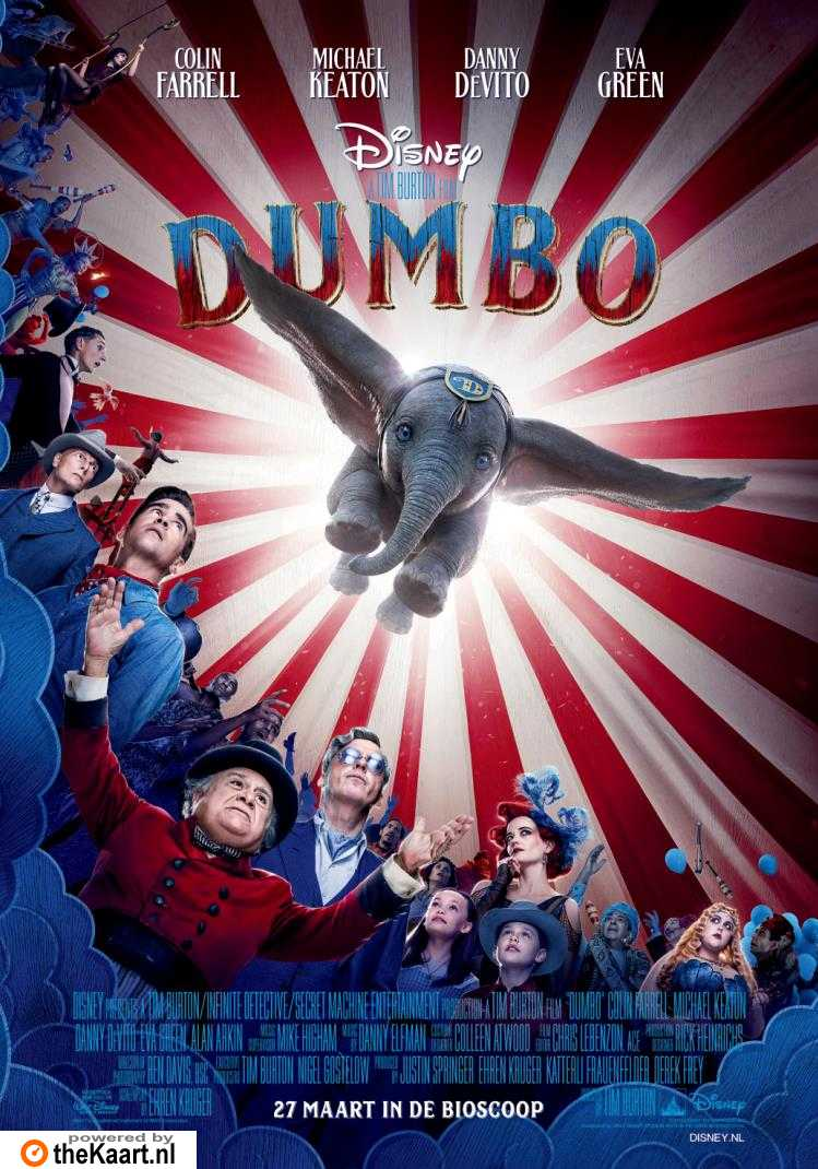 Dumbo poster, © 2019 Walt Disney Pictures