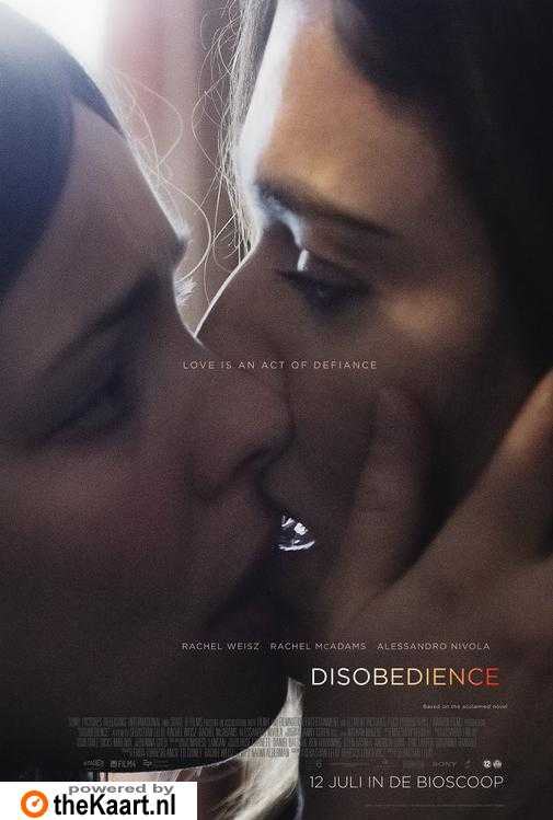 Disobedience poster, © 2017 Universal Pictures International