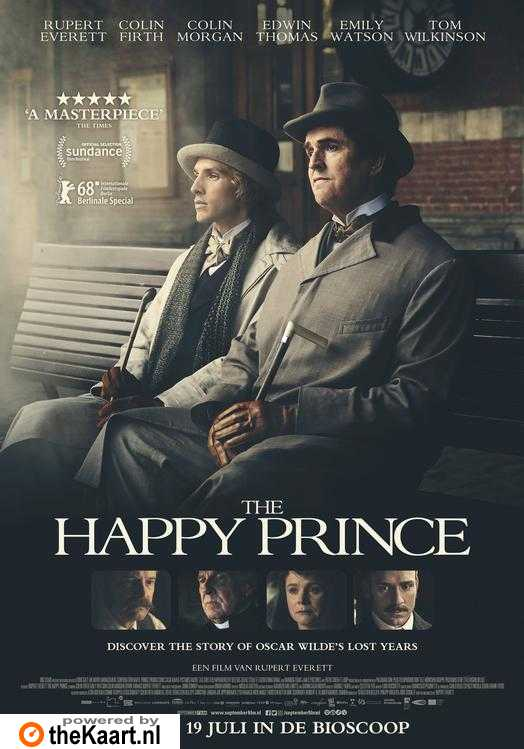 The Happy Prince poster, © 2018 September