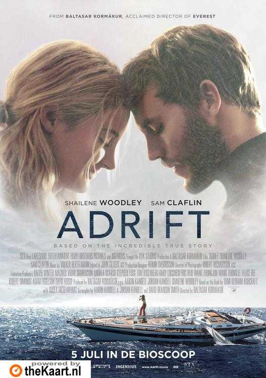 Adrift poster, copyright in handen van productiestudio en/of distributeur