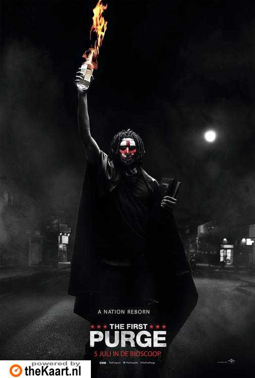 The First Purge poster, © 2018 Universal Pictures International