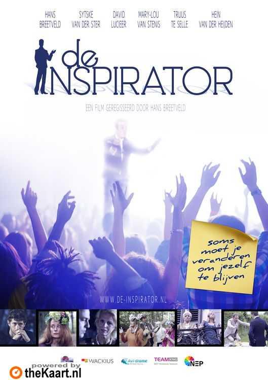 De Inspirator poster, © 2018 Pink Moon BV