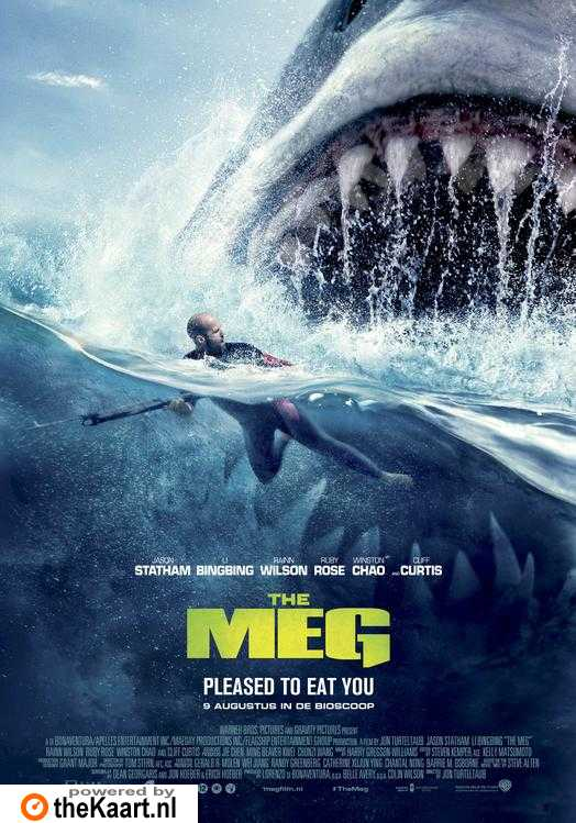 The Meg poster, © 2018 Warner Bros.
