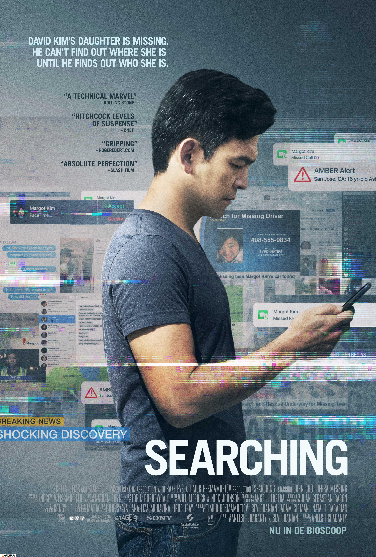Searching poster, copyright in handen van productiestudio en/of distributeur