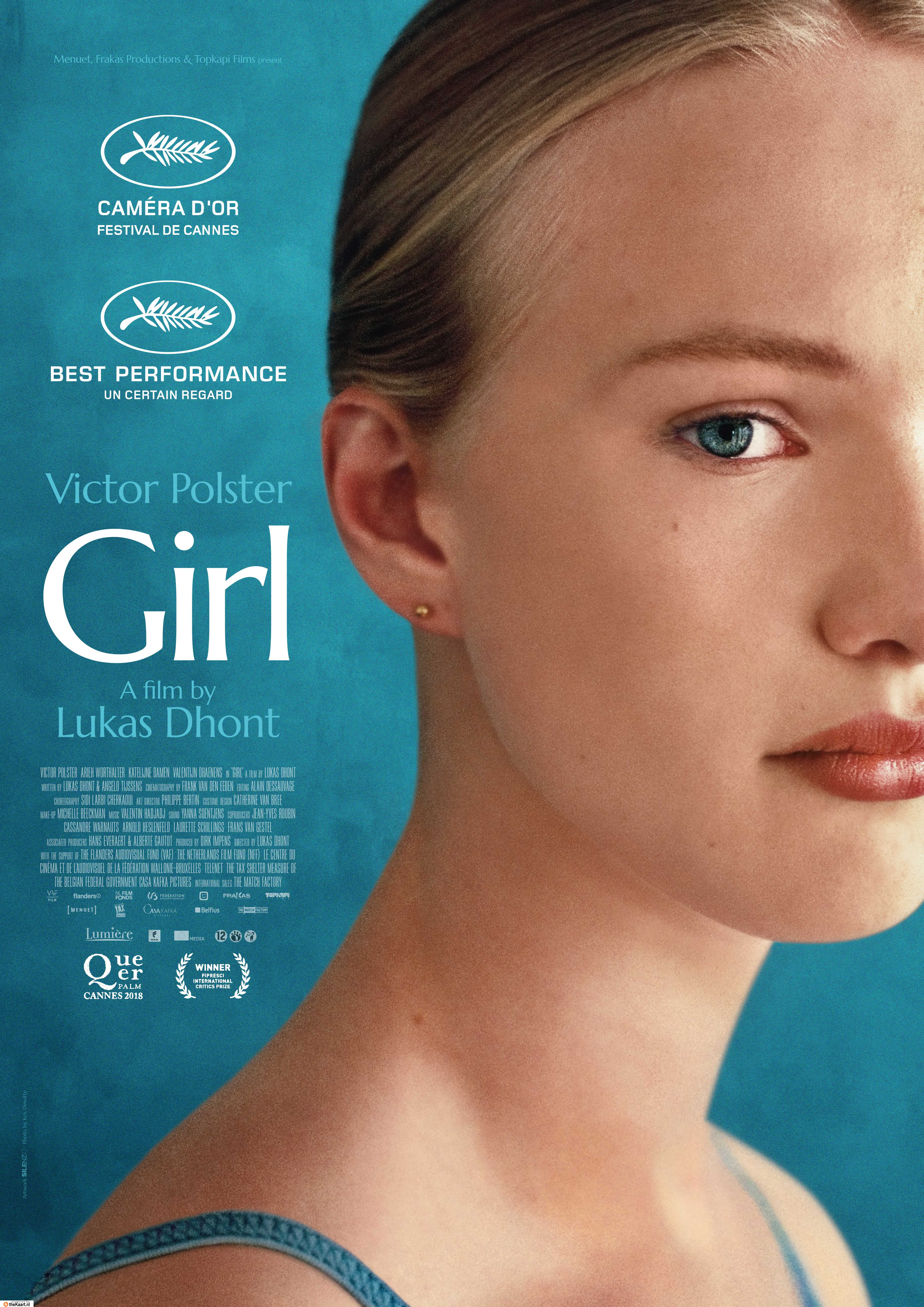 Girl poster, copyright in handen van productiestudio en/of distributeur