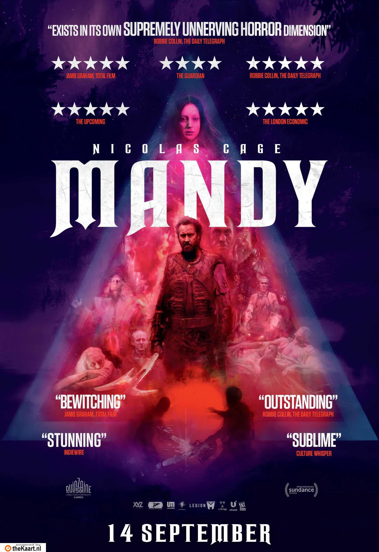 Mandy poster, copyright in handen van productiestudio en/of distributeur