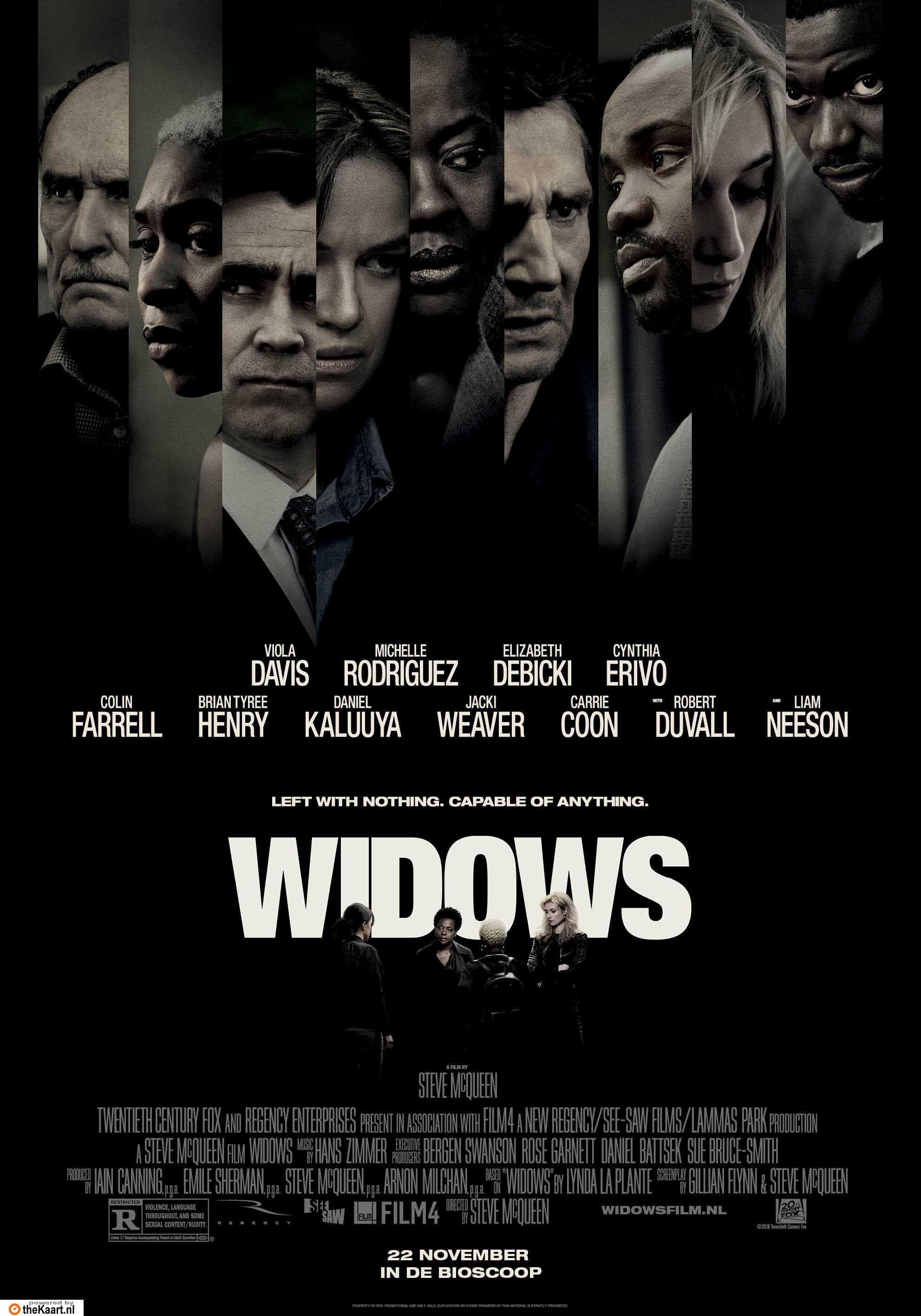 Widows poster, © 2018 20th Century Fox