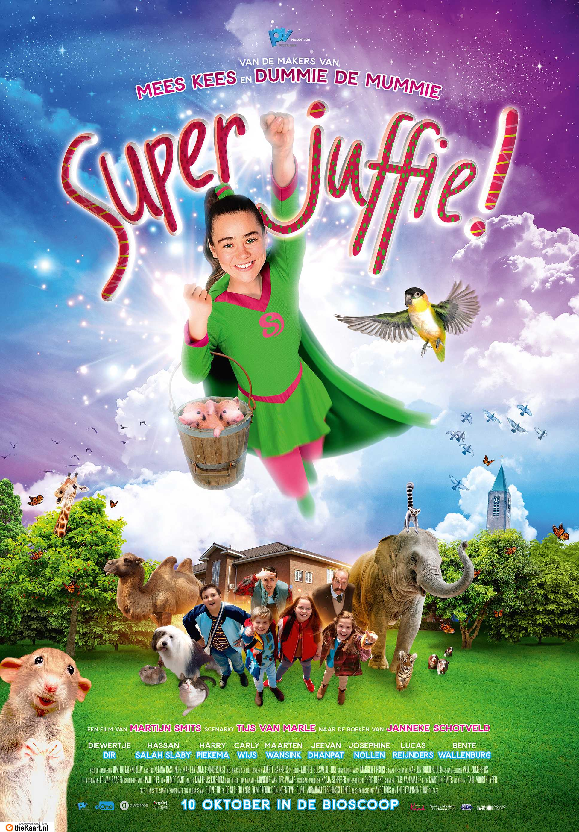 Superjuffie poster, © 2018 Entertainment One Benelux