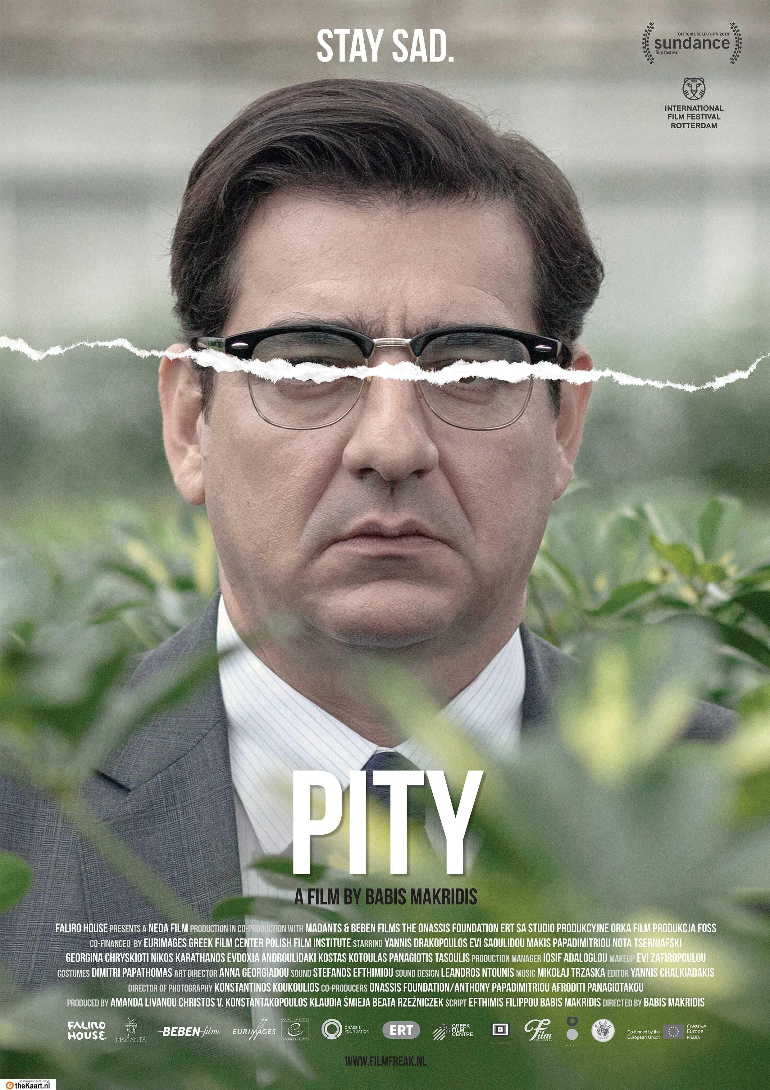 Pity poster, copyright in handen van productiestudio en/of distributeur