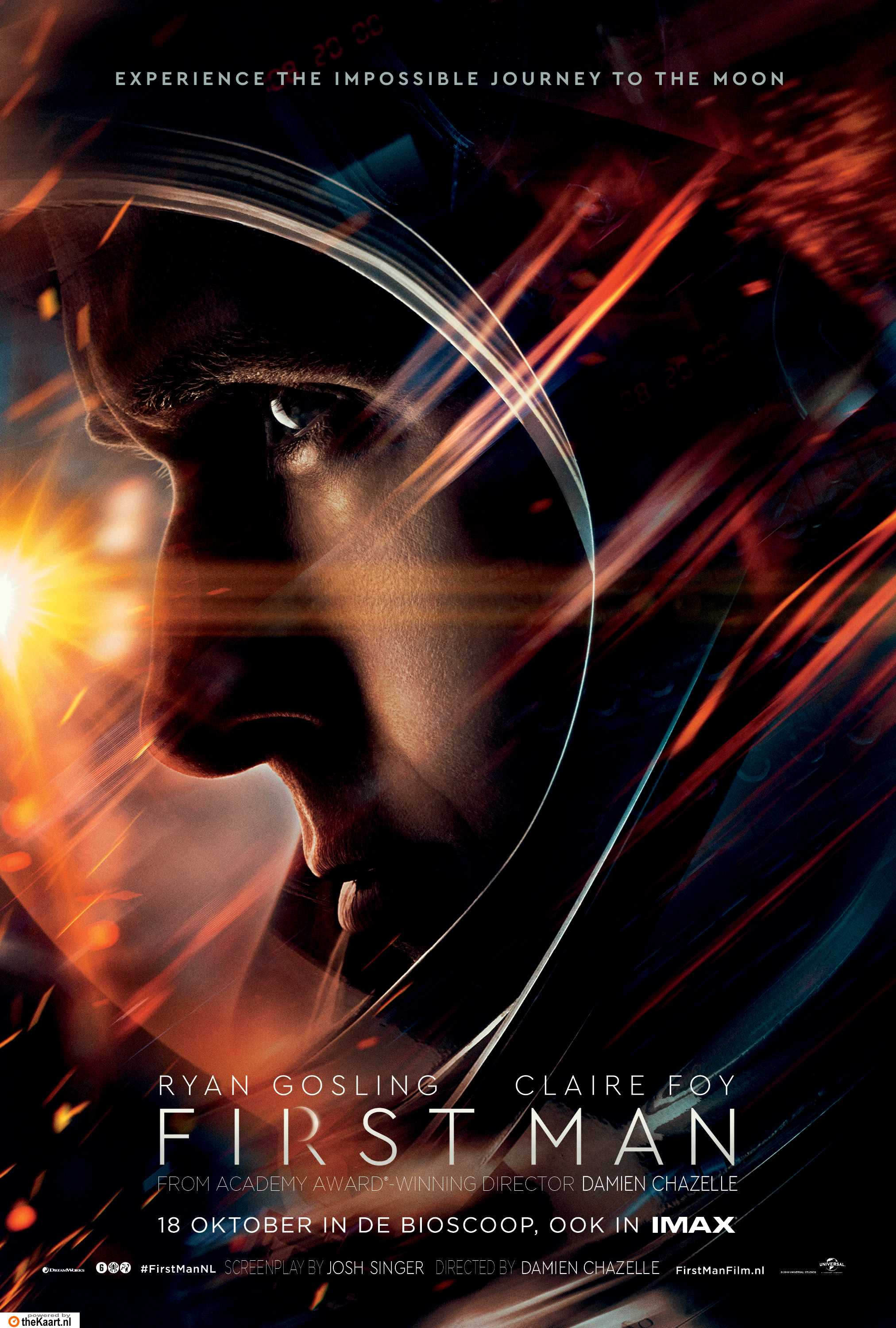 First Man poster, © 2018 Universal Pictures International
