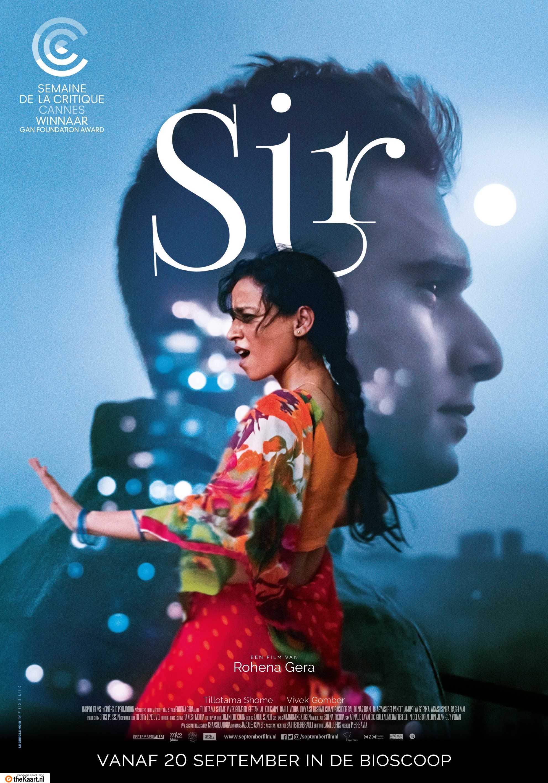Sir poster, copyright in handen van productiestudio en/of distributeur