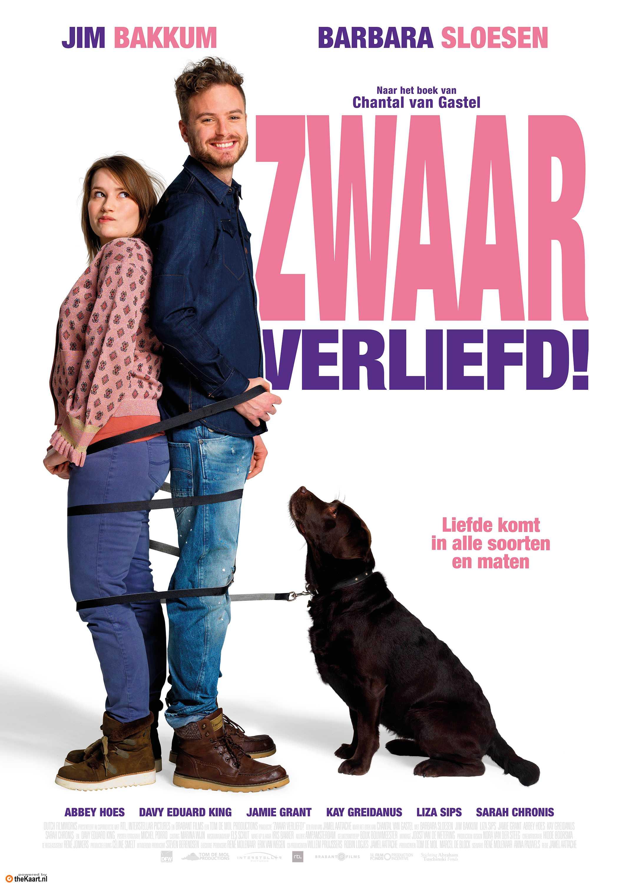 Zwaar Verliefd! poster, © 2018 Dutch FilmWorks