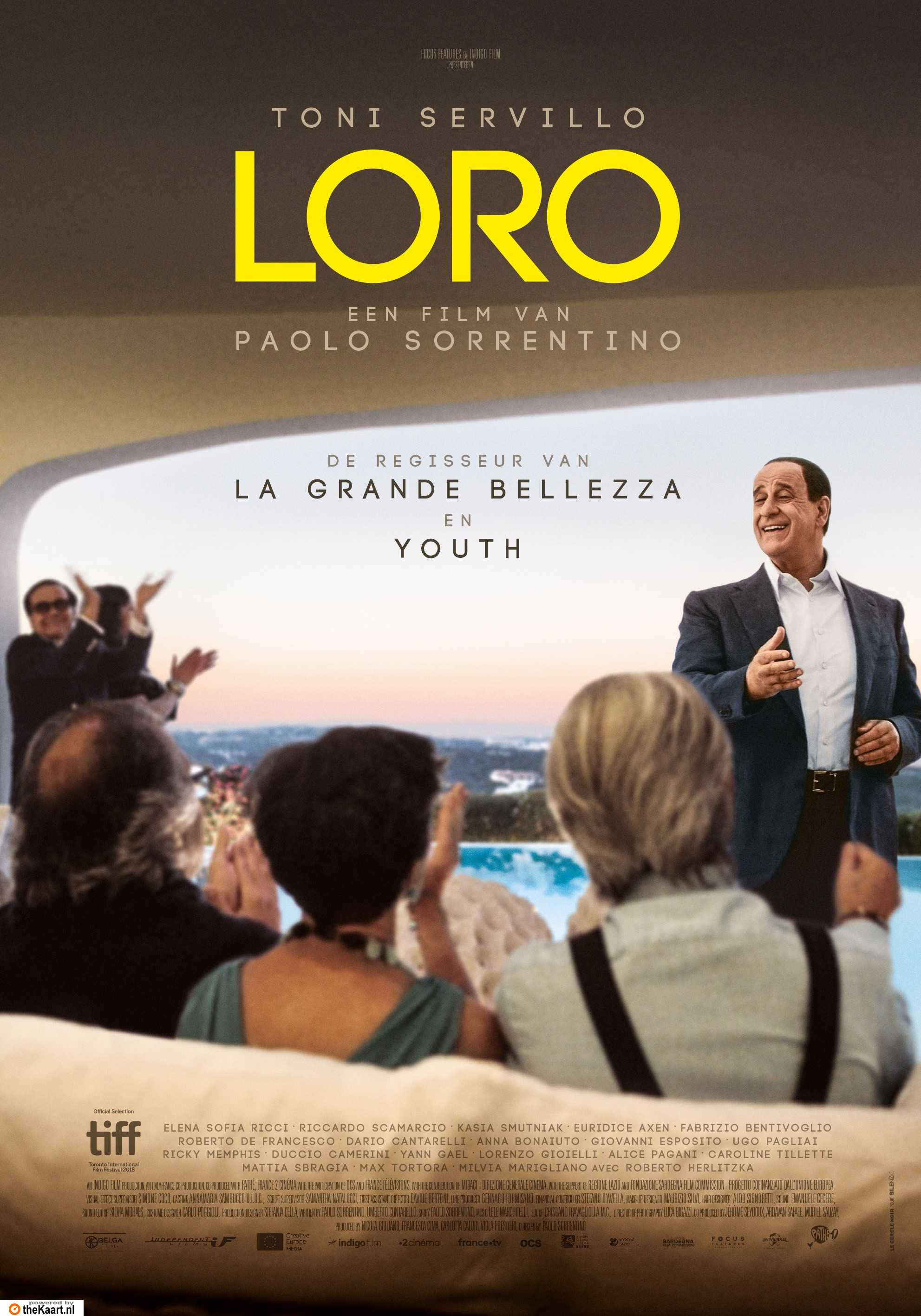 Loro poster, © 2018 Independent Films
