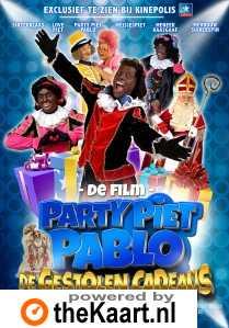 Party Piet Pablo en de Gestolen Cadeaus poster, copyright in handen van productiestudio en/of distributeur