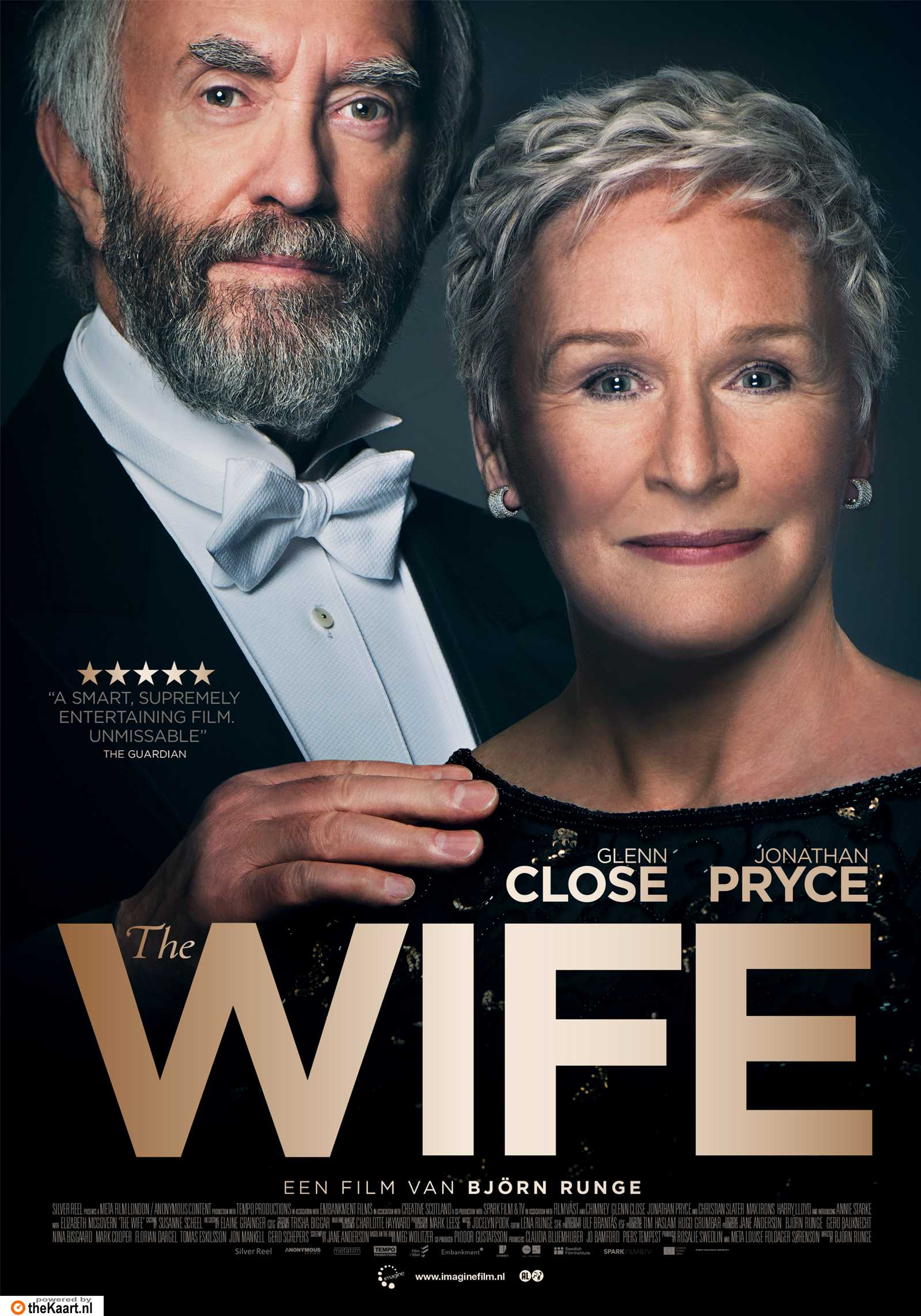 The Wife poster, copyright in handen van productiestudio en/of distributeur