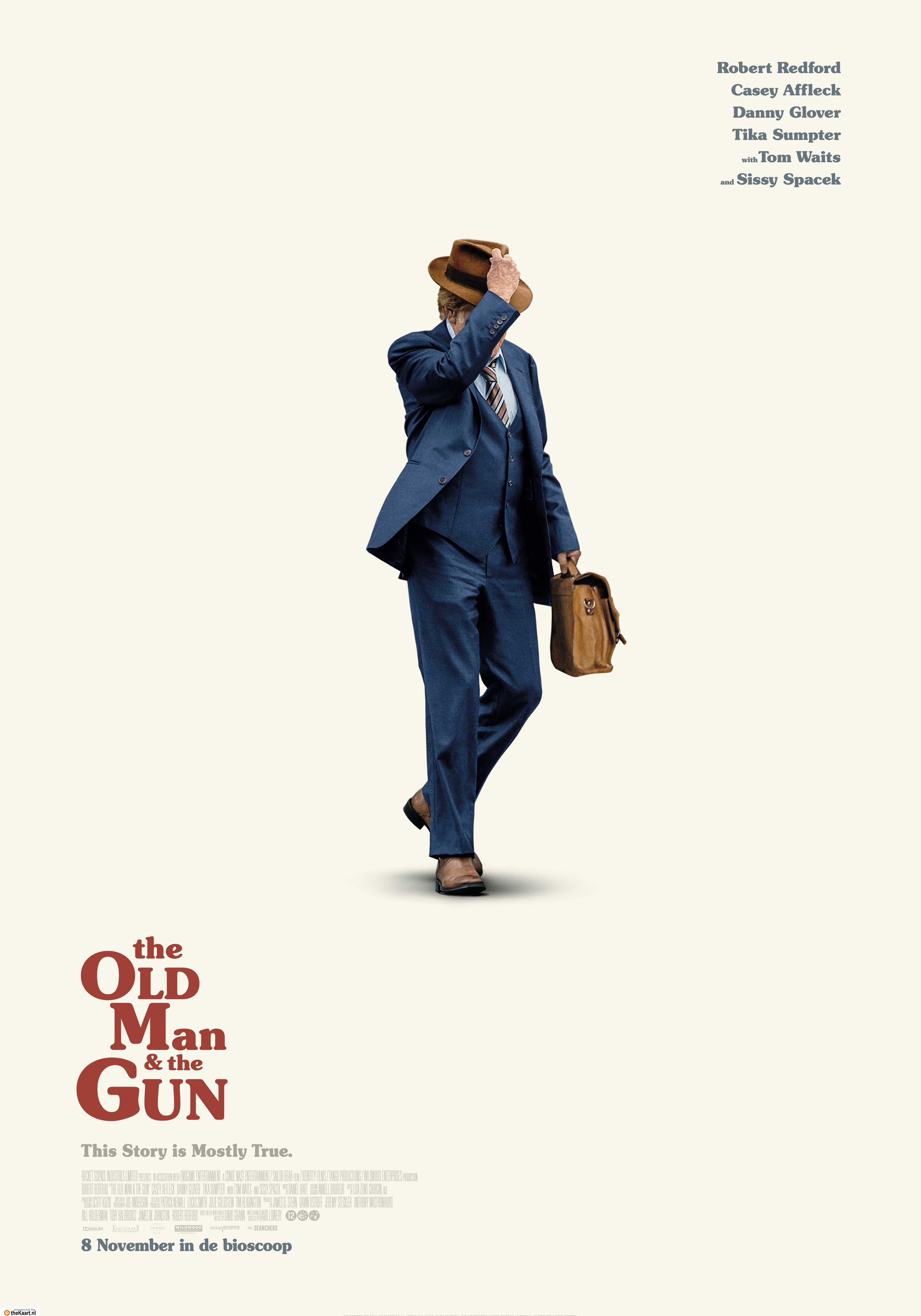 The Old Man and the Gun poster, © 2018 The Searchers