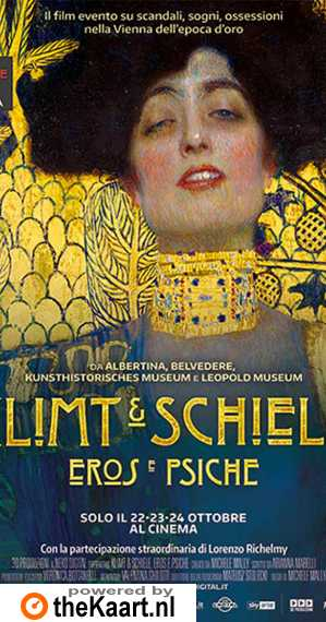 Klimt & Schiele - Eros and Psyche poster, copyright in handen van productiestudio en/of distributeur