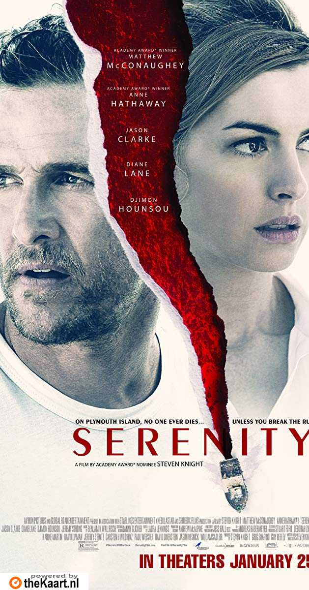 Serenity poster, © 2019 The Searchers