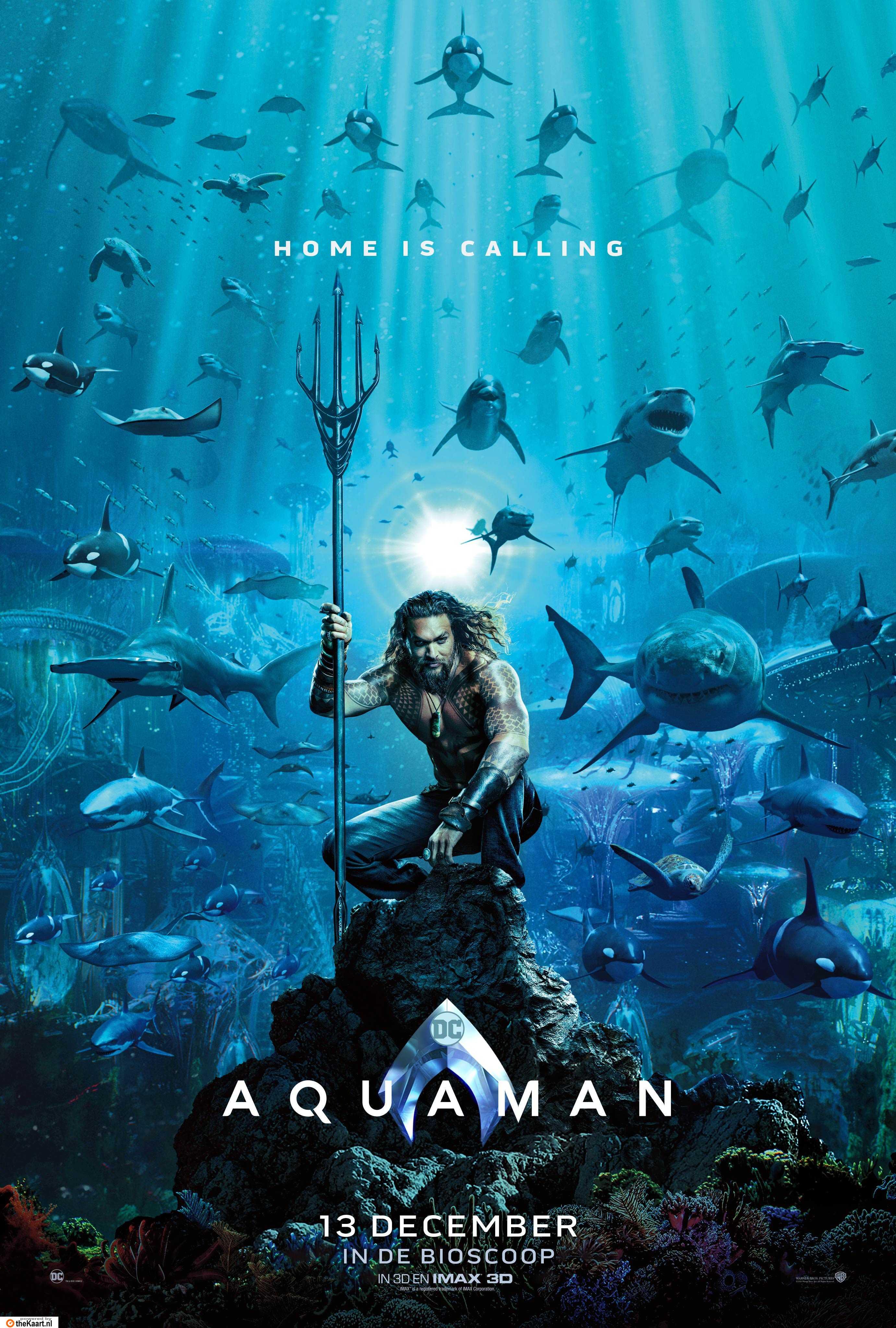 Aquaman poster, © 2018 Warner Bros.