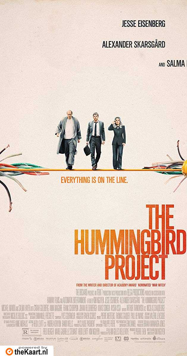 The Hummingbird Project poster, © 2019 Independent Films