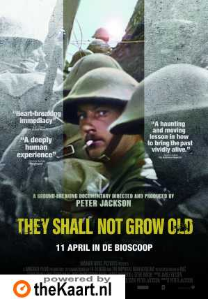 They Shall Not Grow Old poster, © 2018 Warner Bros.