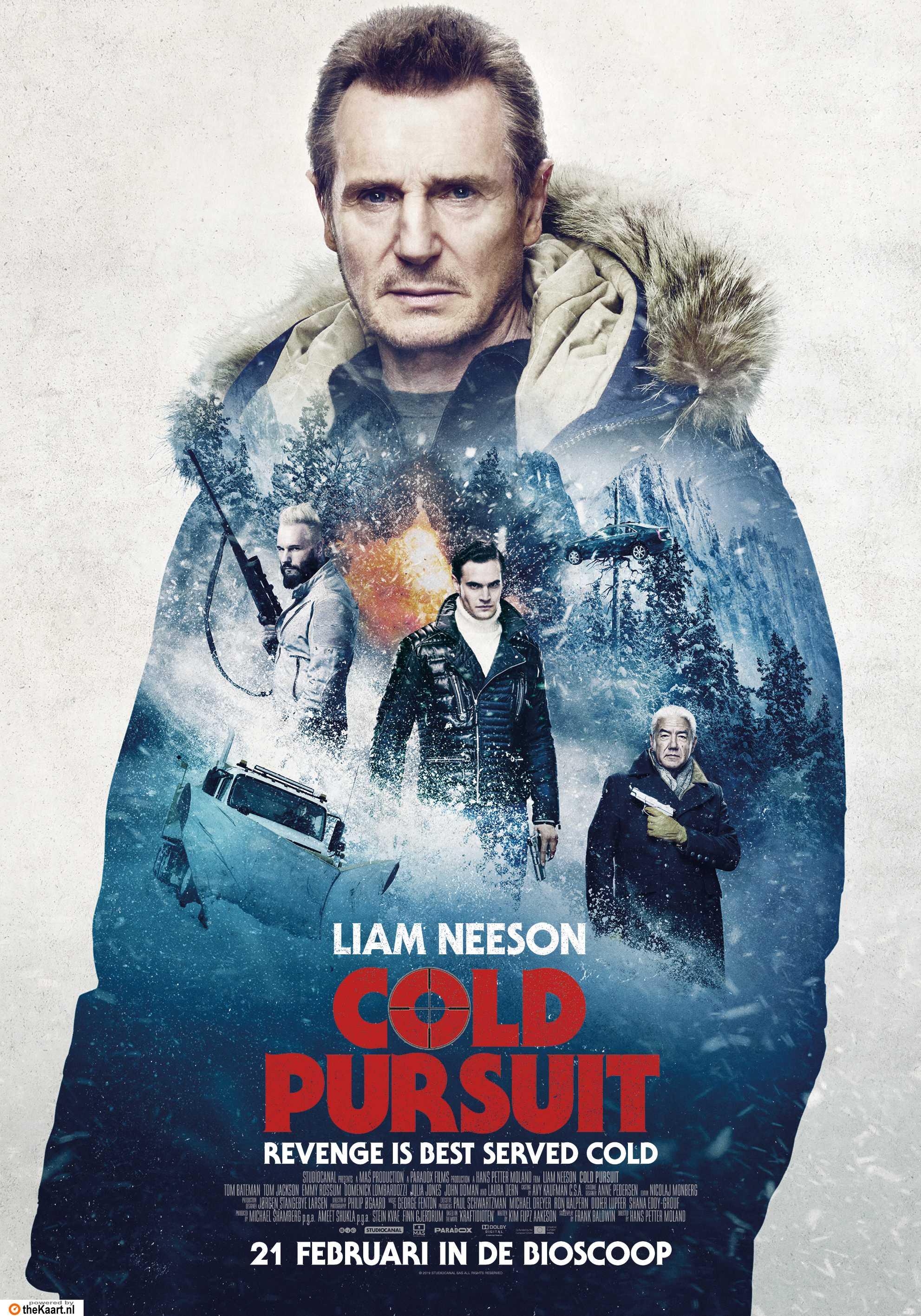 Cold Pursuit poster, © 2019 The Searchers