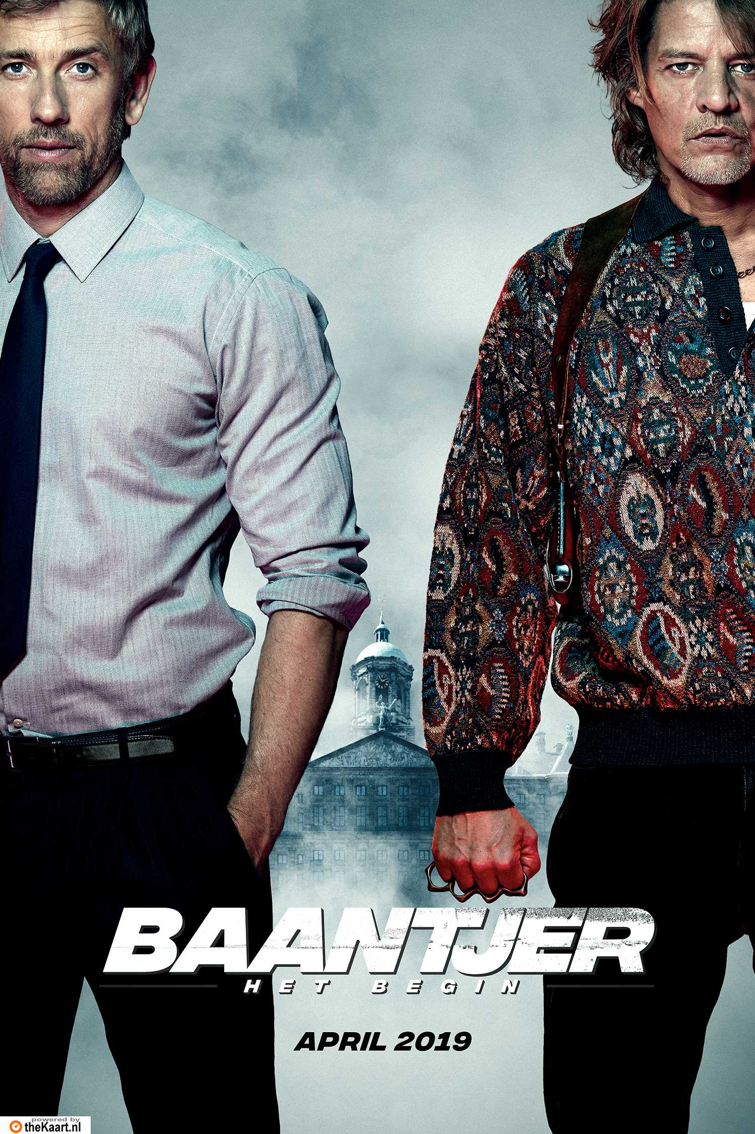 Baantjer het Begin poster, © 2019 Paradiso