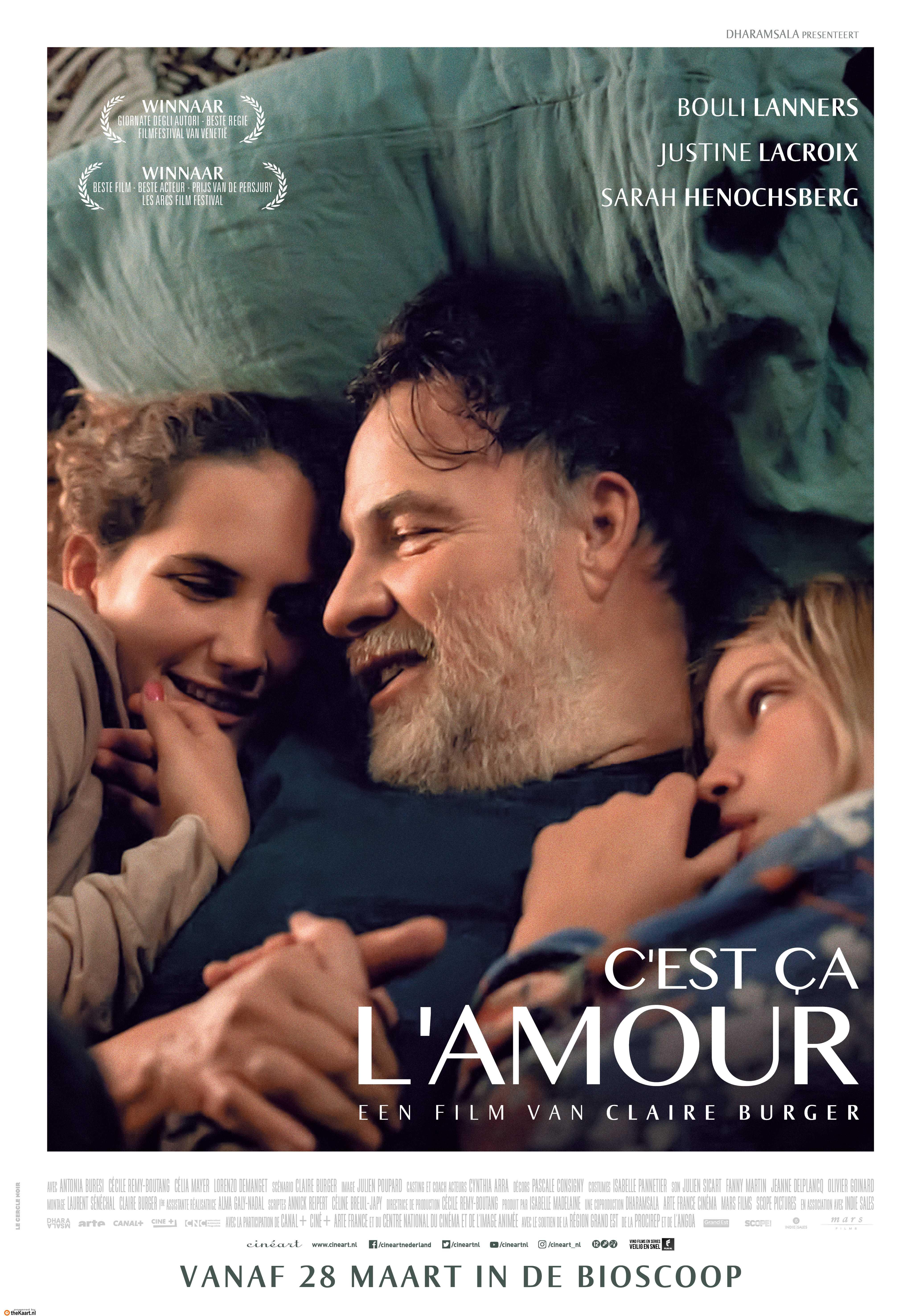C'est ça l'amour poster, © 2018 Cinéart