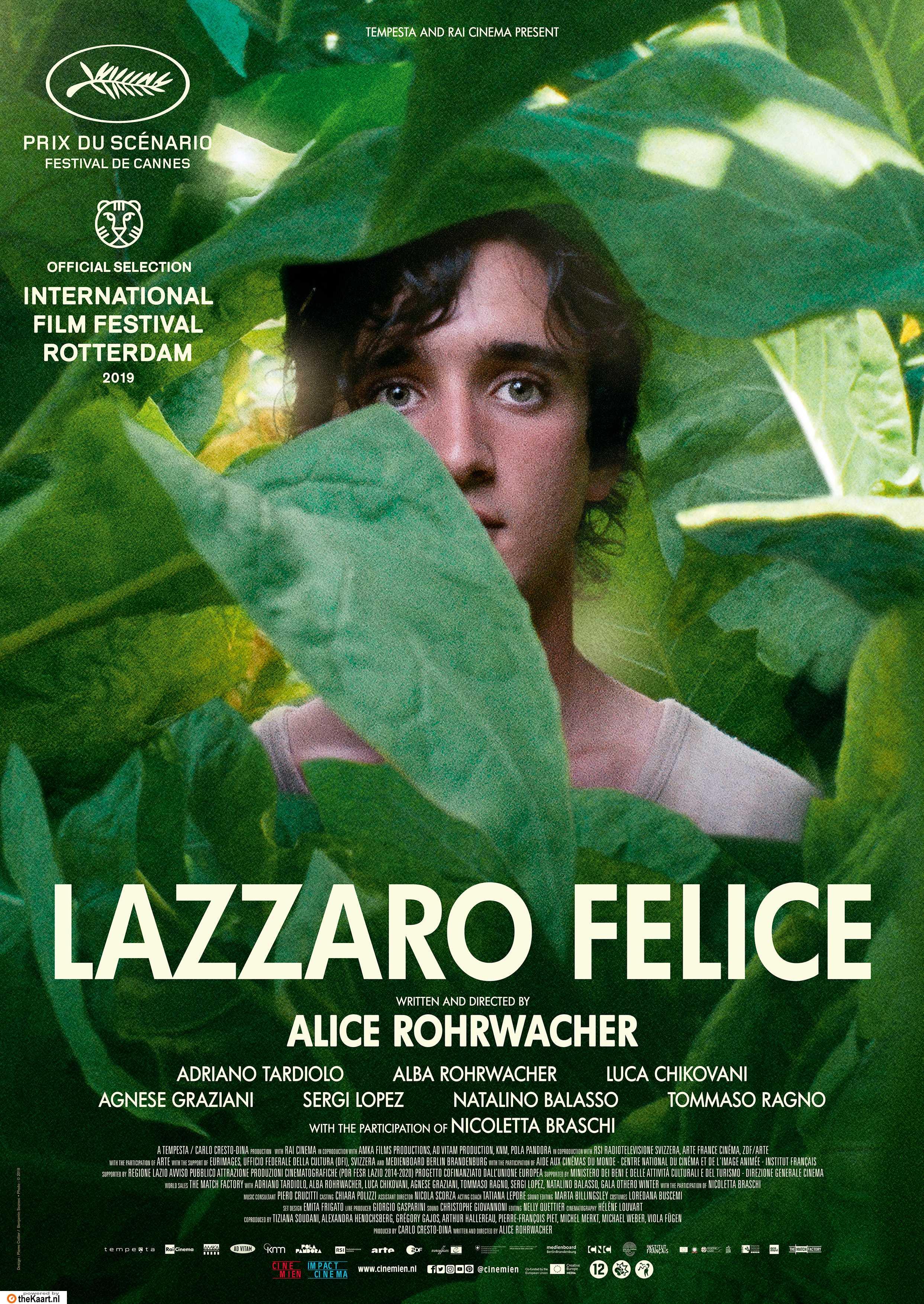 Lazzaro felice poster, © 2018 Cinemien