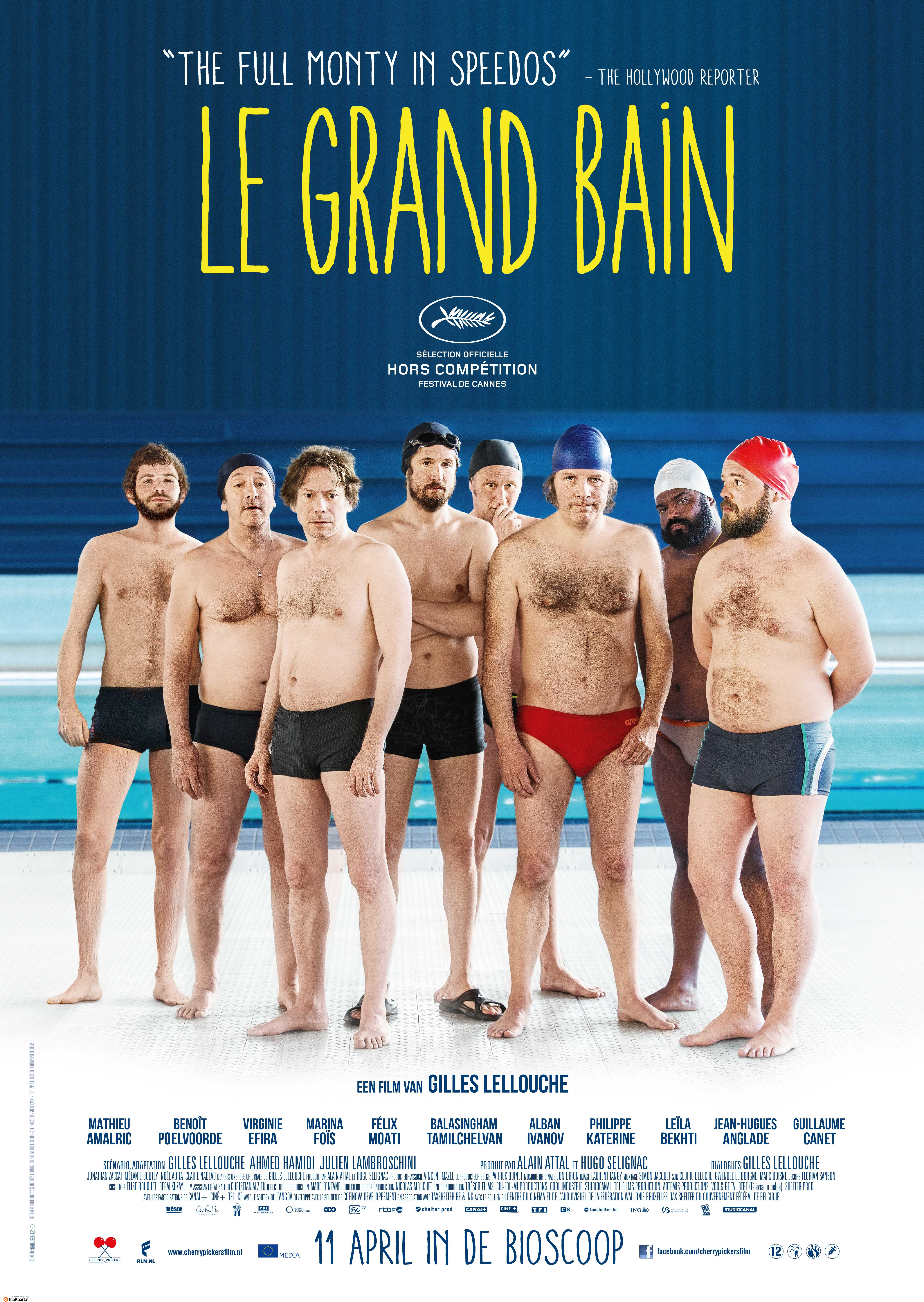 Le Grand Bain poster, © 2018 Cherry Pickers