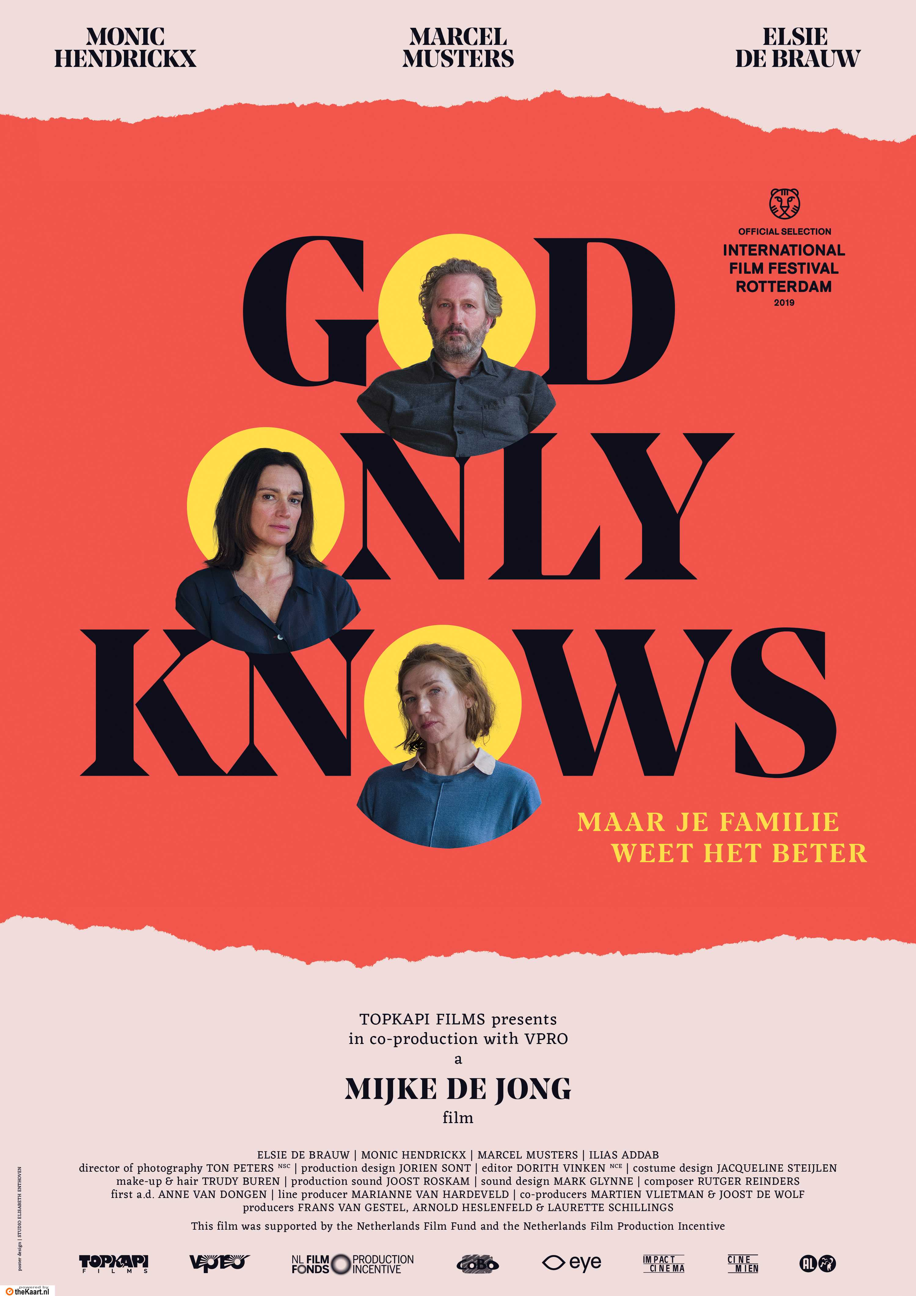 God Only Knows poster, © 2019 Cinemien