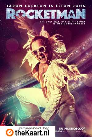 Rocketman poster, © 2019 Universal Pictures International