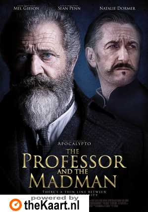 The Professor and the Madman poster, © 2018 Dutch FilmWorks