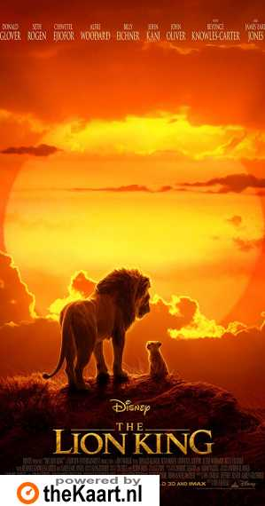The Lion King poster, © 2019 Walt Disney Pictures