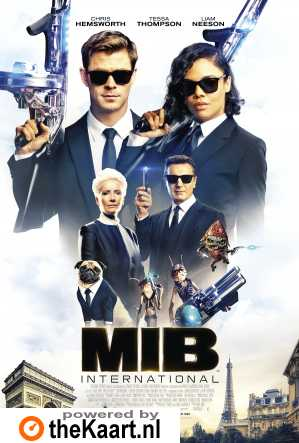 Men in Black: International poster, © 2019 Universal Pictures International