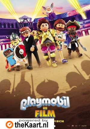 Playmobil De Film (NL) poster, © 2019 Independent Films