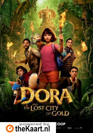 Dora and the Lost City of Gold poster, © 2019 Universal Pictures International