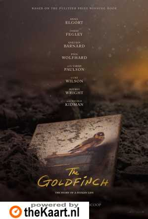 The Goldfinch poster, © 2019 Warner Bros.