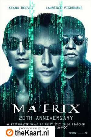 The Matrix poster, © 1999 Warner Bros.