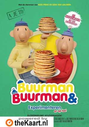 Buurman & Buurman, Experimenteren er op los! poster, copyright in handen van productiestudio en/of distributeur