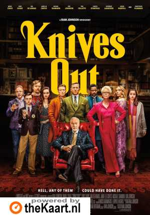 Knives Out poster, © 2019 Independent Films