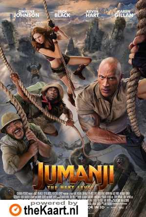 Jumanji: The Next Level poster, © 2019 Universal Pictures International