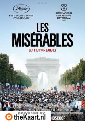 Les Misérables poster, © 2019 Paradiso