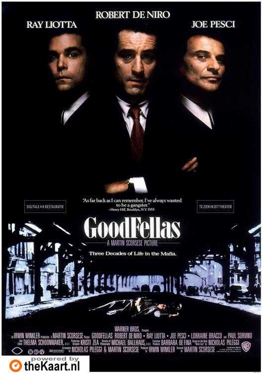 Poster 'Goodfellas' © 1990