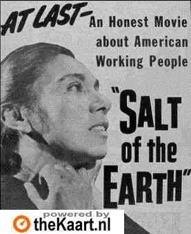 poster 'Salt of the Earth' © 1953